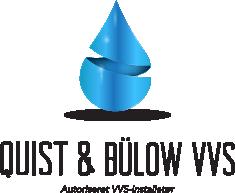 Logo Quist & Bülow VVS original uden baggrund